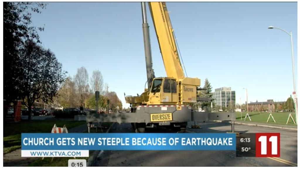 KTVA News Report on New Steeple